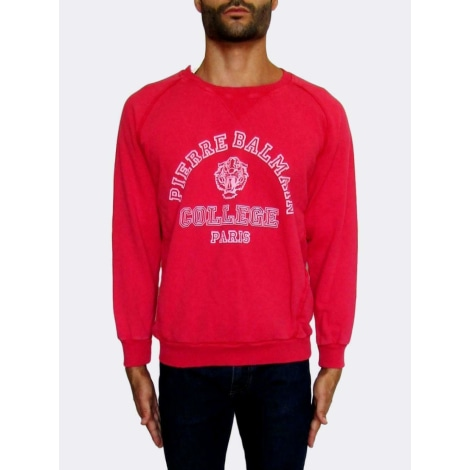 Sweat PIERRE BALMAIN Rose, fuschia, vieux rose