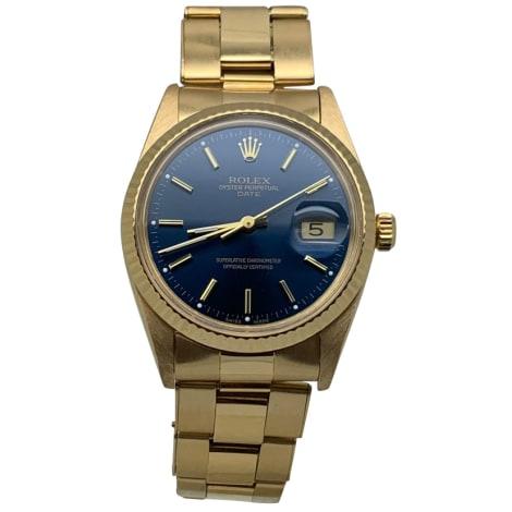 Wrist Watch ROLEX Blue, navy, turquoise