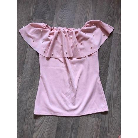Top, tee-shirt INCONNU Rose, fuschia, vieux rose