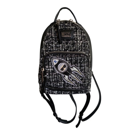Backpack KARL LAGERFELD Noir et gris