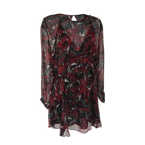 Mini Dress IRO Rouge noiret blanc