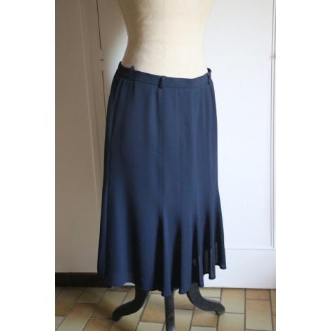 Jupe mi-longue WEINBERG Bleu, bleu marine, bleu turquoise