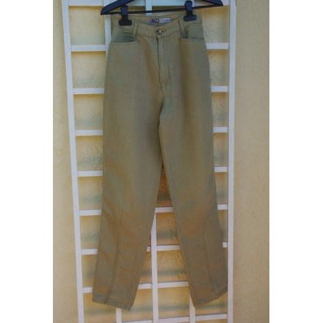Pantalon droit OBER Kaki