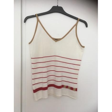 Top, tee-shirt FOLIA Beige, camel