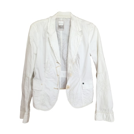 Blazer, veste tailleur MARITHÉ ET FRANÇOIS GIRBAUD Blanc, blanc cassé, écru