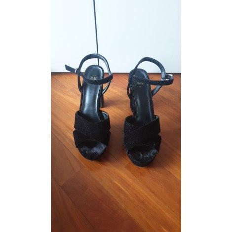 Sandales à talons H&M Noir