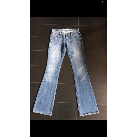 Jeans évasé, boot-cut ABERCROMBIE & FITCH Bleu, bleu marine, bleu turquoise