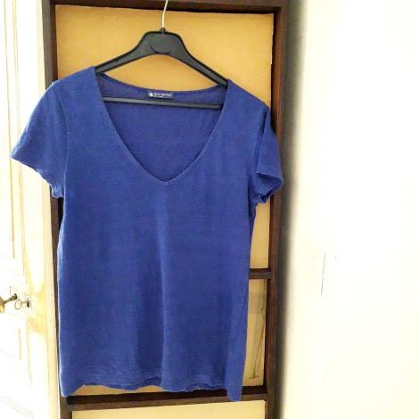 Top, tee-shirt PETIT BATEAU Bleu, bleu marine, bleu turquoise