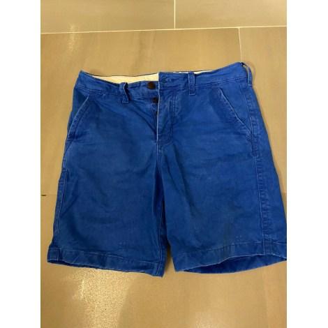 Bermuda ABERCROMBIE & FITCH Bleu, bleu marine, bleu turquoise