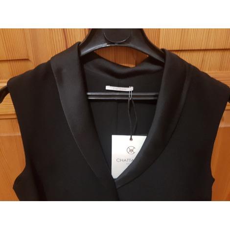 Top, tee-shirt CHATTAWAK Noir