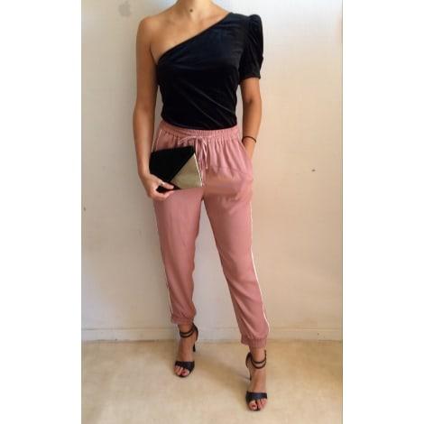 Pantalon droit ZARA Rose, fuschia, vieux rose