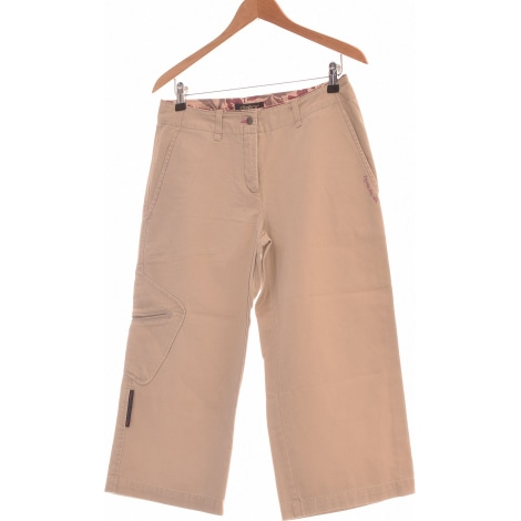 Pantalon droit DDP Beige, camel