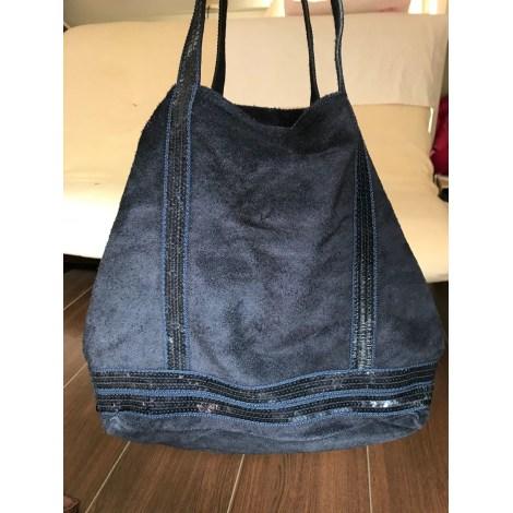 Lederhandtasche MADE IN ITALIE Blau, marineblau, türkisblau