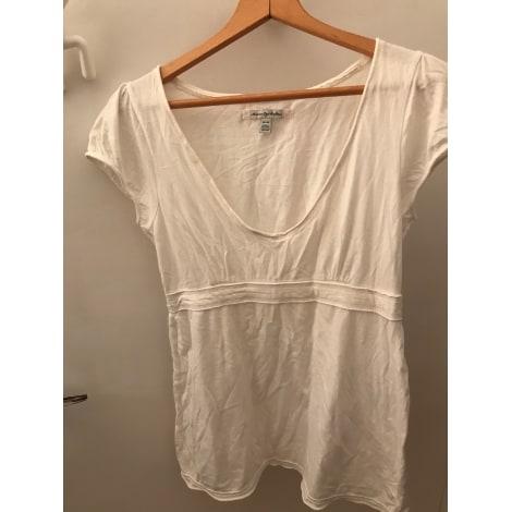 Top, tee-shirt AMERICAN EAGLE OUTFITTERS Blanc, blanc cassé, écru