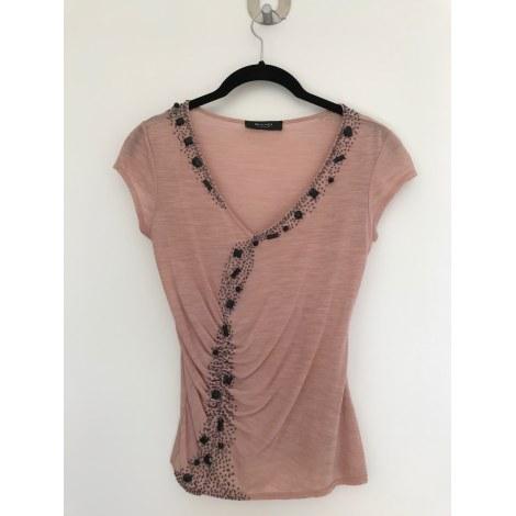 Top, tee-shirt SAND Rose, fuschia, vieux rose