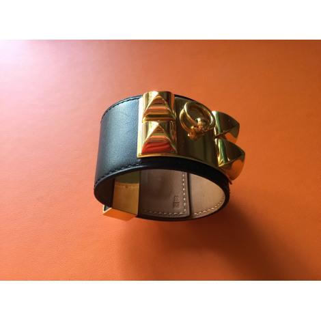 Bracelet HERMÈS Collier de Chien Noir