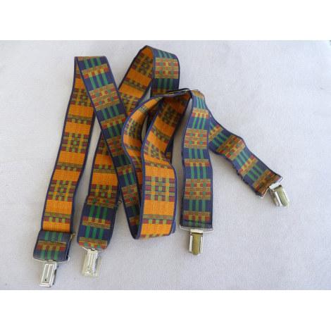 Suspenders MARQUE INCONNUE Multicolor