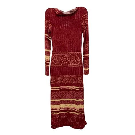 Robe longue JEAN PAUL GAULTIER Rouge, bordeaux