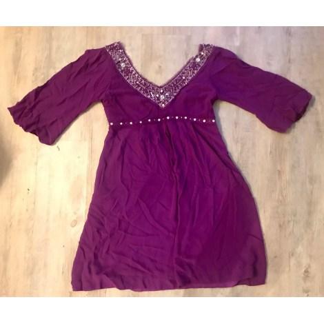 Robe mi-longue ANCA C Violet, mauve, lavande