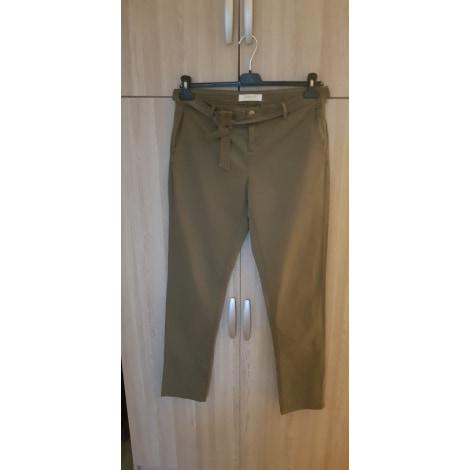Pantalon droit PROMOD Kaki