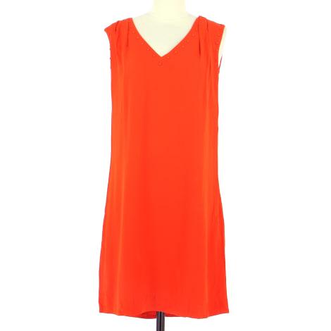Robe mi-longue SUD EXPRESS Orange