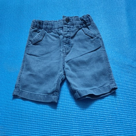 Bermuda Shorts MARQUE INCONNUE Blue, navy, turquoise