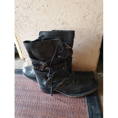 Biker Ankle Boots STEVE MADDEN Black