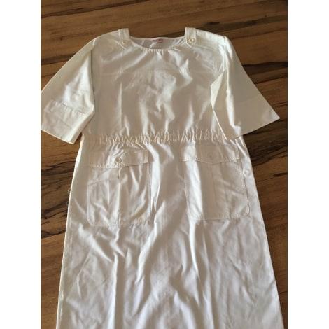 Robe courte PIER BÉ Blanc, blanc cassé, écru