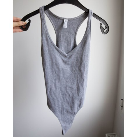 Body AMERICAN APPAREL Gris, anthracite