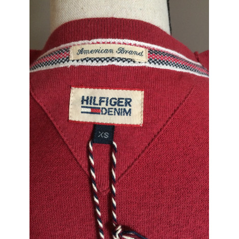 Gilet, cardigan TOMMY HILFIGER Rouge, bordeaux