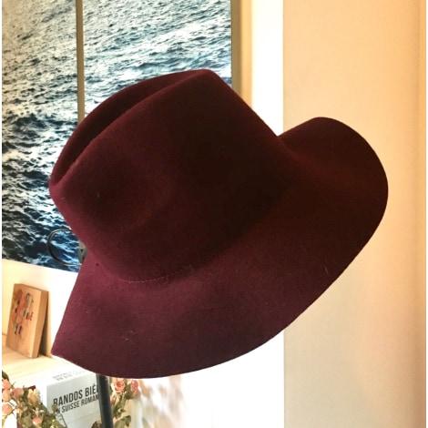 Chapeau BOCAGE Rouge, bordeaux