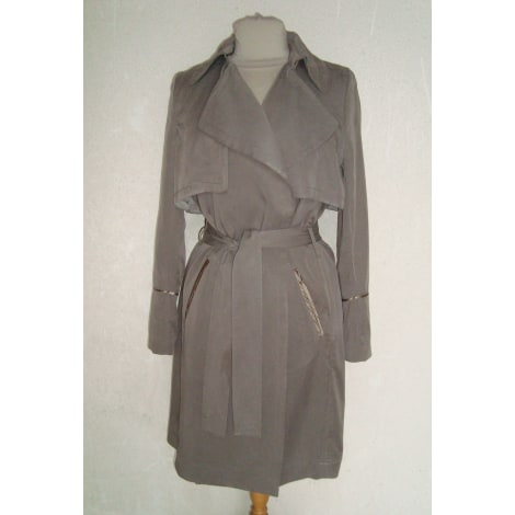Imperméable, trench IKKS Gris, anthracite
