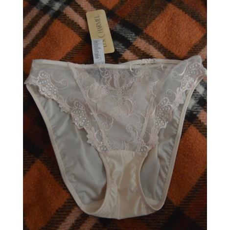 Culotte LISE CHARMEL Blanc, blanc cassé, écru
