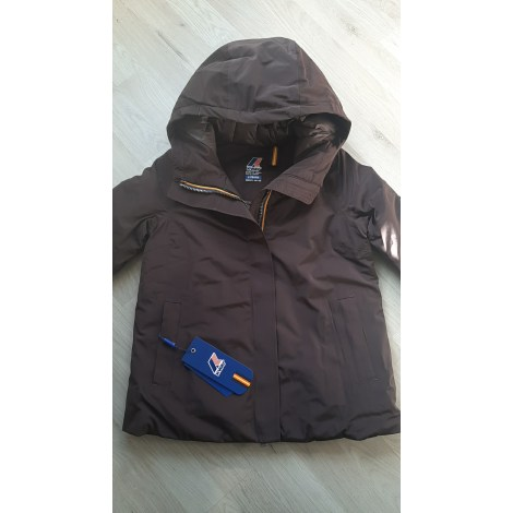 Parka K-WAY Marron