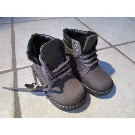 Ankle Boots LA HALLE AUX CHAUSSURES Gray, charcoal