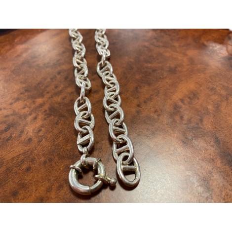 Chaine AGATHA Argenté, acier