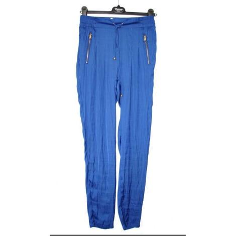 Pantalon carotte MORGAN Bleu, bleu marine, bleu turquoise