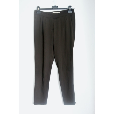 Pantalon slim, cigarette ALAIN MANOUKIAN Vert