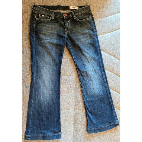 Jeans évasé, boot-cut GAS BIJOUX Bleu, bleu marine, bleu turquoise