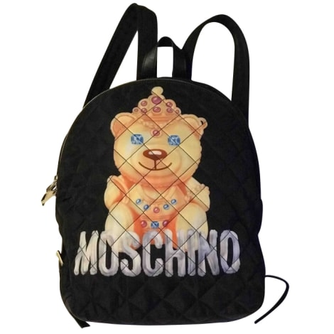 Backpack MOSCHINO Black