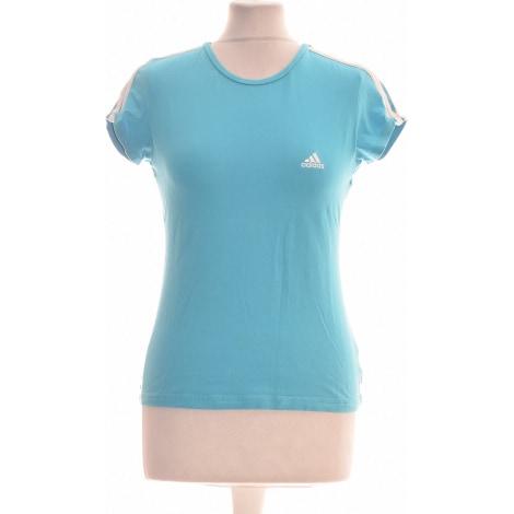 Tops, T-Shirt ADIDAS Blau, marineblau, türkisblau
