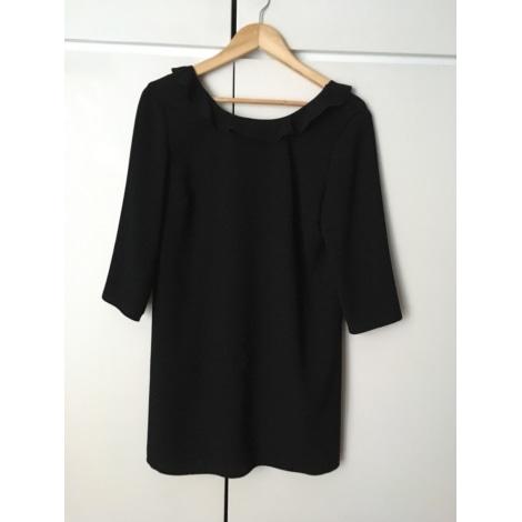 Robe courte L'ATELIER DE CAMILLE Noir