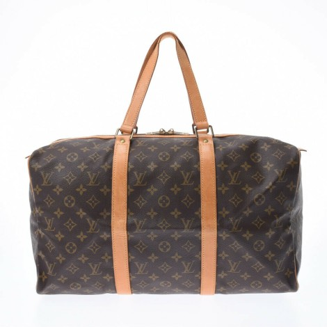 Sac XL en tissu LOUIS VUITTON Marron