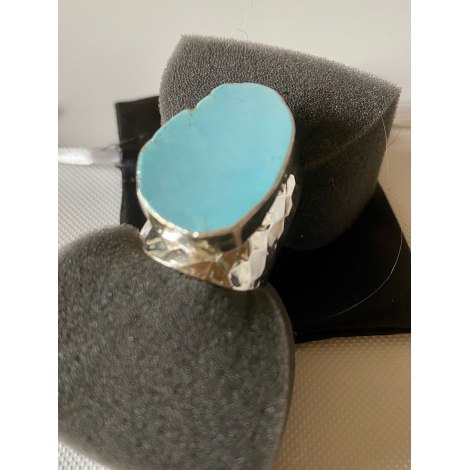 Bague HYPNOCHIC Bleu, bleu marine, bleu turquoise