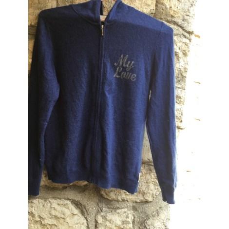 Gilet, cardigan VICTOIRA CREATION Bleu, bleu marine, bleu turquoise