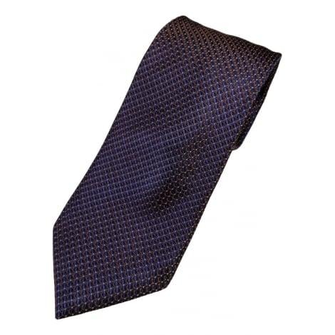 Cravate CANALI Violet, mauve, lavande