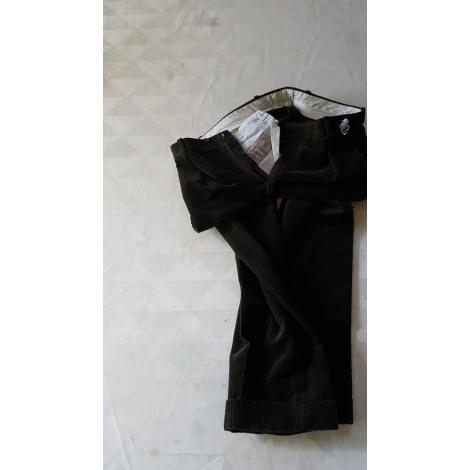 Pantalon droit BROOKS BROTHERS Kaki