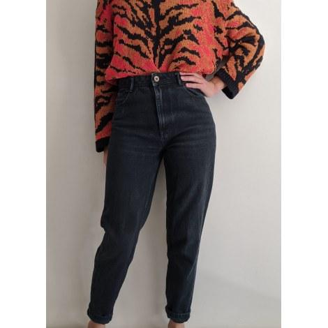 Jeans large, boyfriend ZARA Noir