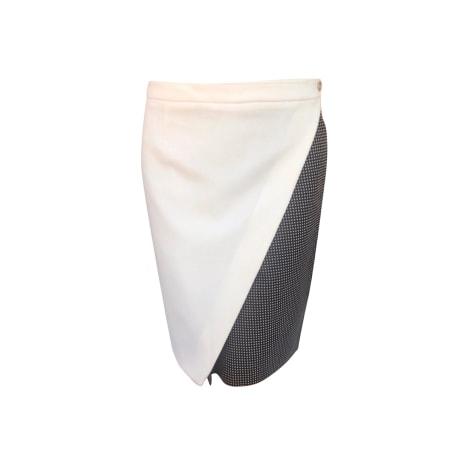 Jupe longue KENZO Blanc, blanc cassé, écru