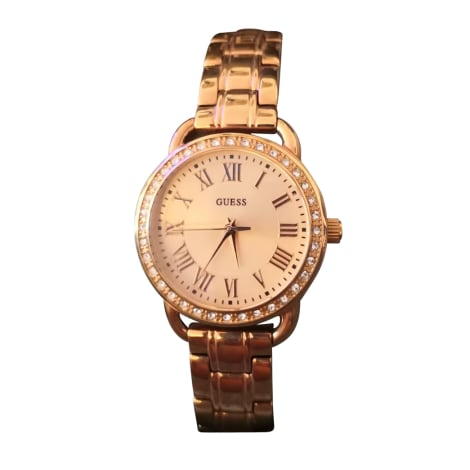 Wrist Watch GUESS Golden, bronze, copper
